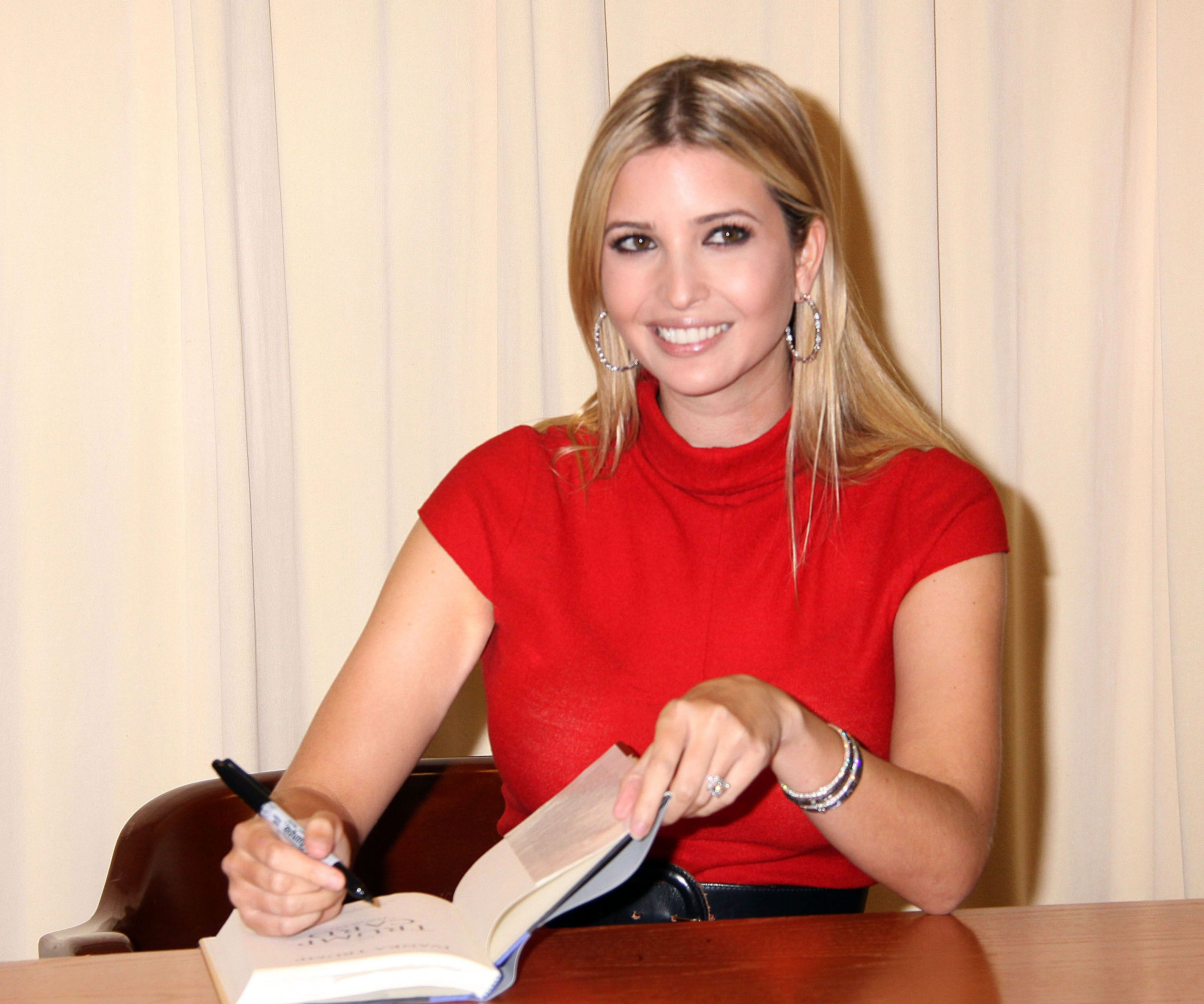 Ivanka Trump Jewelry Upstages Book Launch - Jewelry Insider