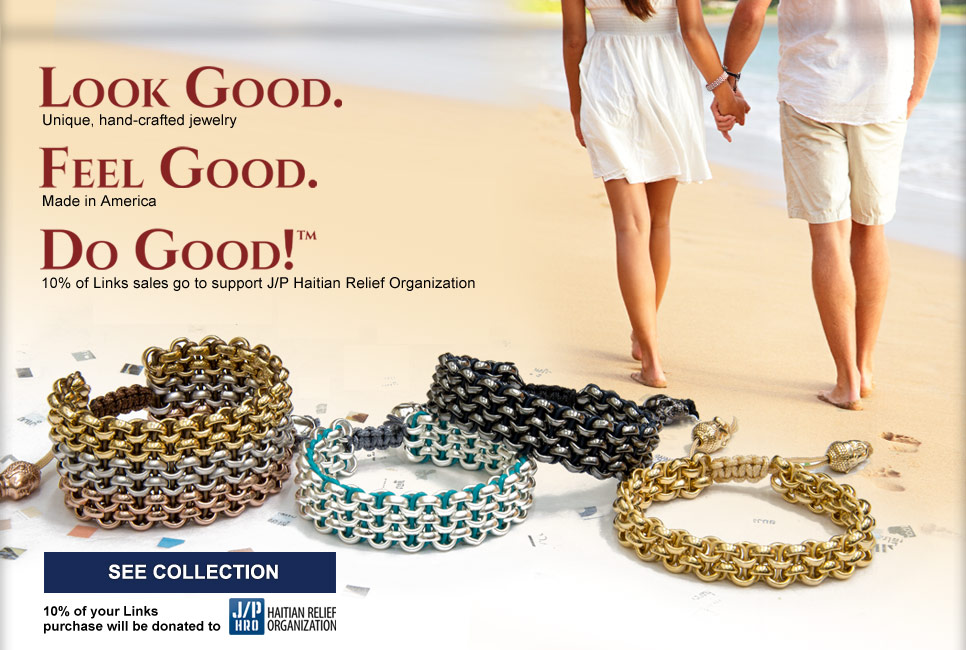 Links Jewelry. Click here to enter