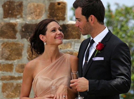 Desiree Hartsock accepting a proposal from Chris Siegfried. Read on