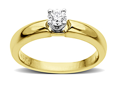 1/3 ct Diamond Engagement Ring in 14K Gold