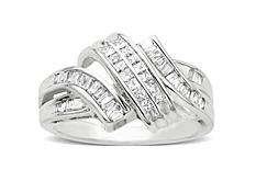 1/2 ct Diamond Ring in 14K White Gold