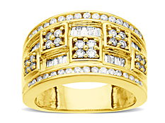 1 ct Diamond Ring in 14K Gold
