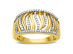 1/4 ct Diamond Ring in 14K Gold