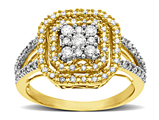 1/2 ct Diamond Ring in 14K Gold