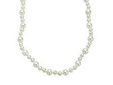 100-inch 'Opera Length' 3-5.5mm Pearl Strand Necklace