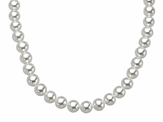 18-inch 6.5-7mm Pearl Strand with 14K Gold Clasp