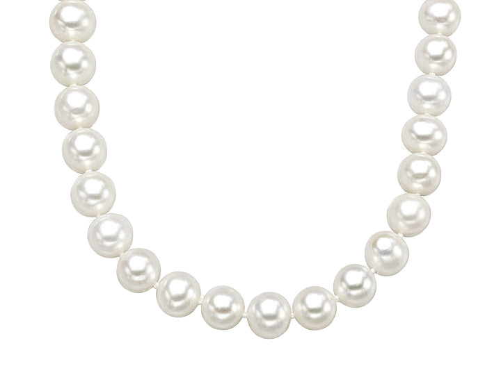 18-Inch 8.5-9mm Pearl Strand with 14K Gold Clasp from Jewelry. com