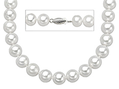 18-inch 9-9.5mm Pearl Strand with 14K Gold Clasp
