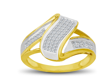 1/2 ct Diamond Ring in 10K Gold