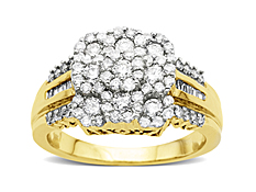 1 ct Diamond Ring in 10K Gold