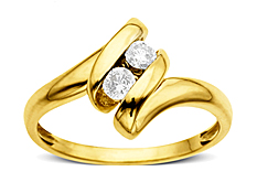 1/5 ct Diamond Ring in 10K Gold