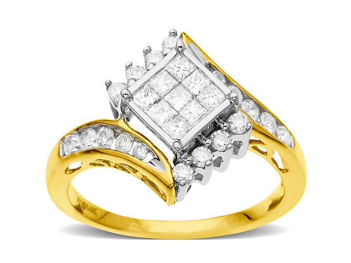 3/4 ct Diamond Engagement Ring in 14K Gold from Jewelry. com