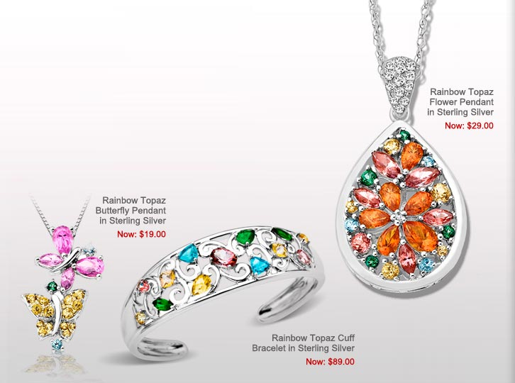 Rainbow Topaz Jewelry