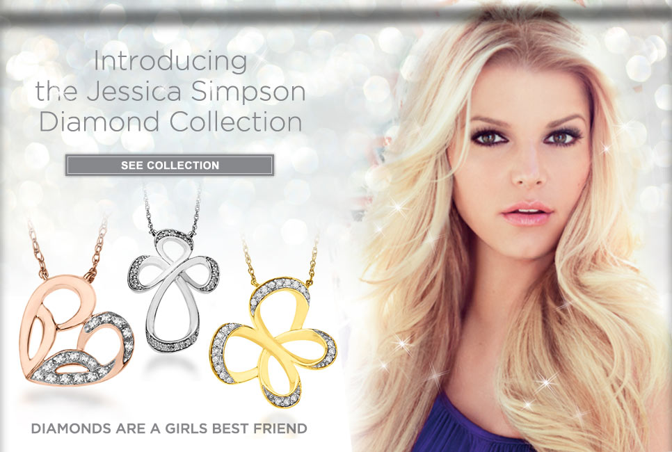 Jessica Simpson Diamond Jewelry Boutique, Enter to Shop